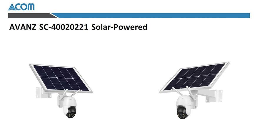 AVAN SC40020221 SOLAR POWERED CAMERA.JPG