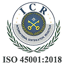 ISO 45001 ICR Certification logo