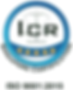 ICR Singapore certification ISO9001:2015 logo