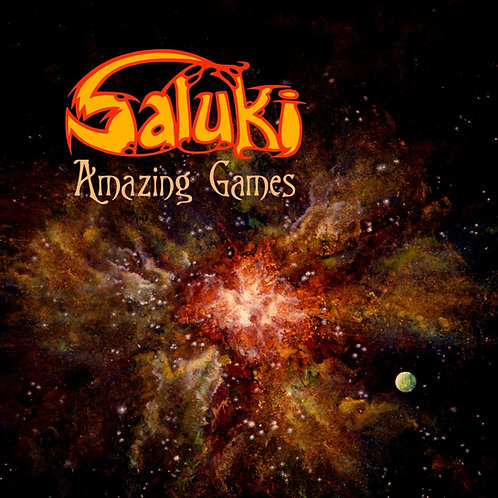 Saluki - Amazing Games - CD