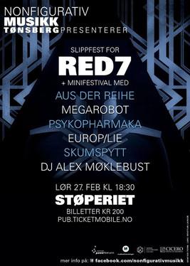Red 7 release concert & mini festival