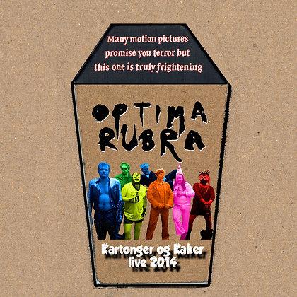 Optima Rubra - Kartonger og Kaker DVD