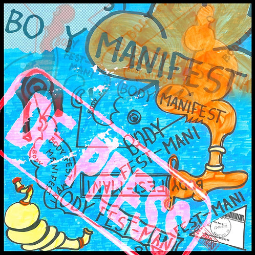 De Press - Body Manifest - LP