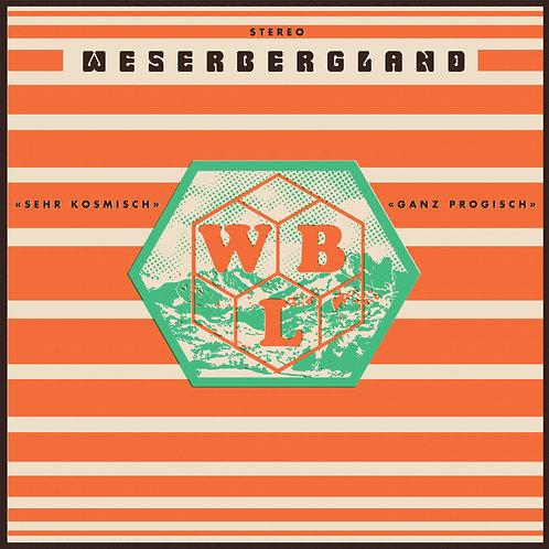 "Weserbergland - ""Sehr Komisch"" ""Ganz Progisch"" - CD"
