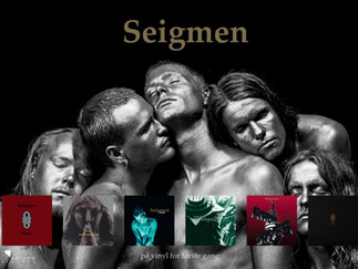 New in webshop: Seigmen remasters