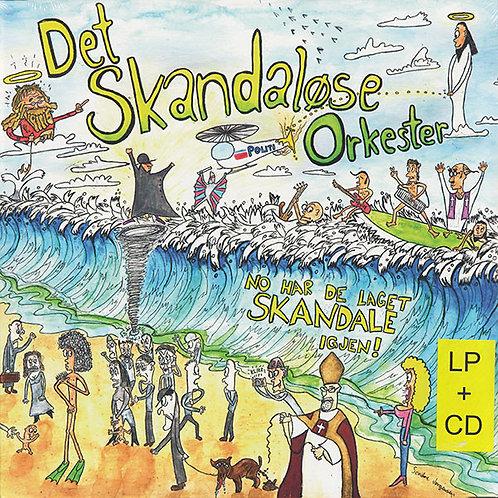 Det Skandaløse Orkester - No har de laget Skandale igjen! LP+CD