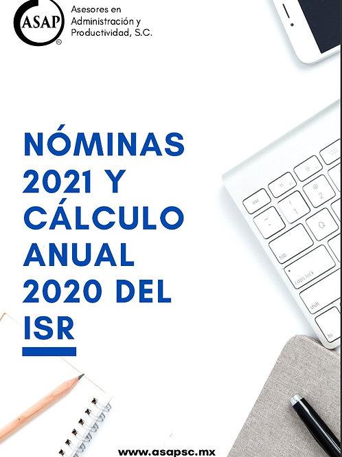 Estatus Nómina 2021 y Cálculo Anual 2020