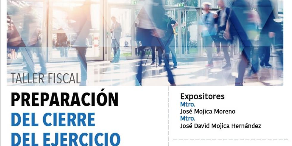 Preparación del Cierre del Ejercicio 2020 Personas Morales