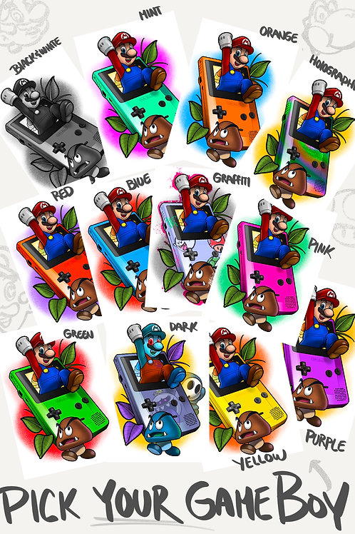 Super Mario Game Boy $40 - $65