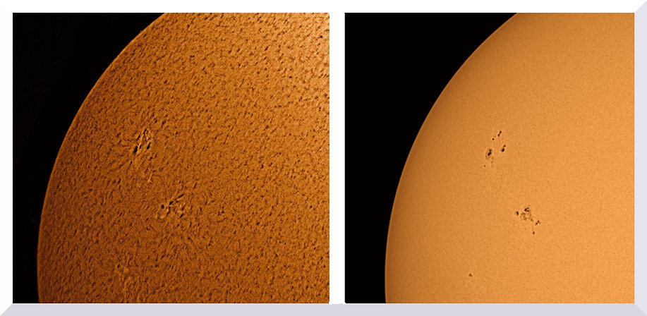 H-alpha lumière blanche taches solaires 11 septembre 2021-awebbin.jpg