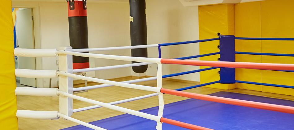 """Боксерский Ринг Студии Фитнеса """"Тренер Плюс"""""""
