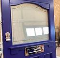 Purple 1930's door