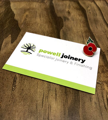 Powell Joinery Business Card