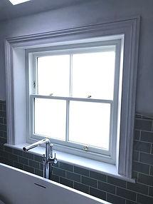 Wood sliding sash window