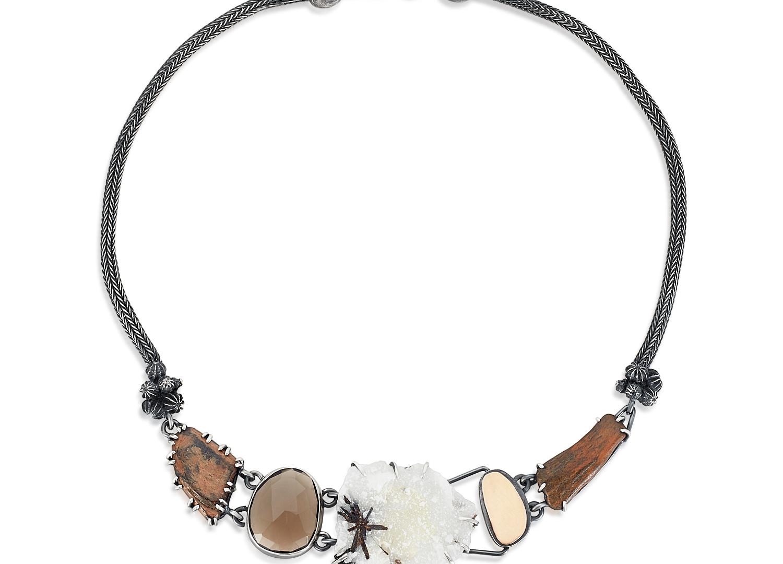 Tourmalated Quartz Collection Necklace