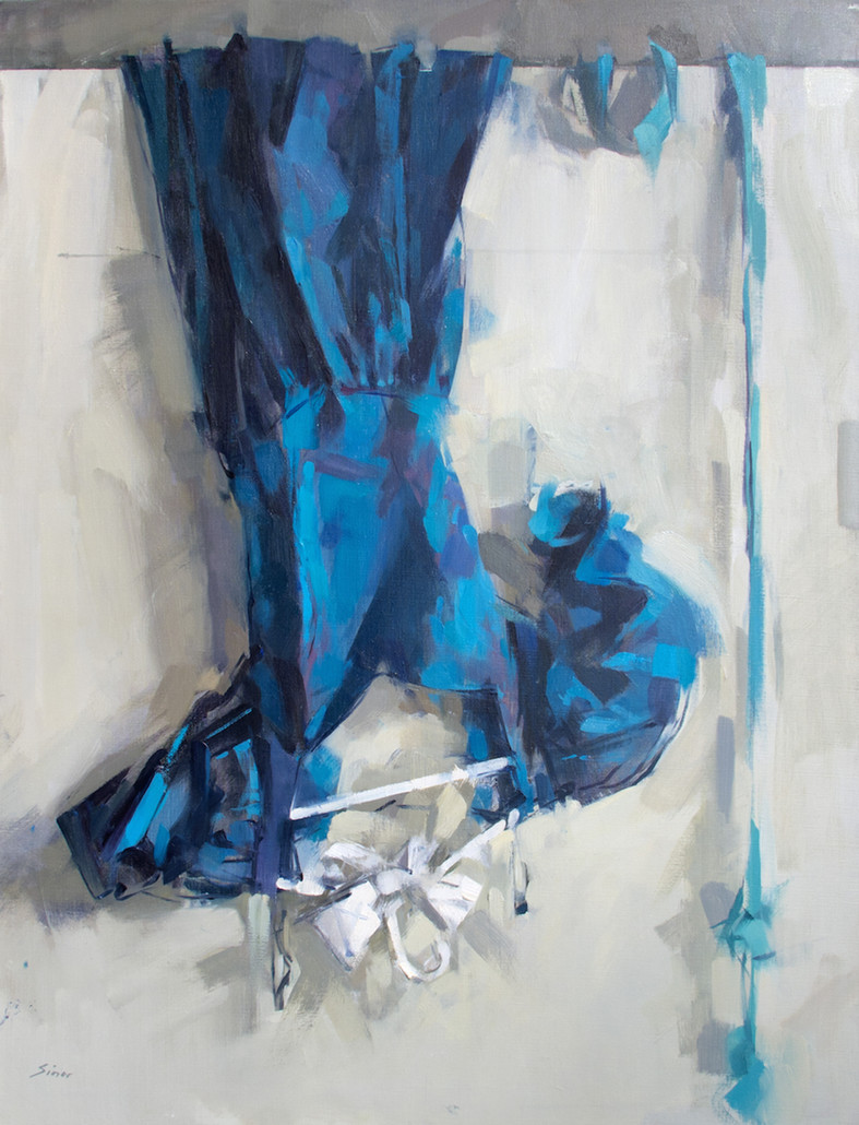 Blue Dress Over Door, 2006