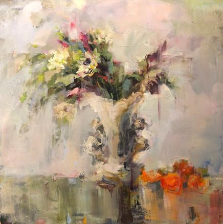 Vase with Mandarins, 2019