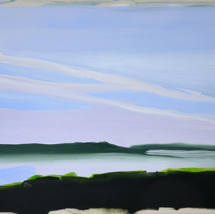 Toward Caburn 71 x 81 cm