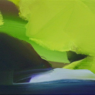 Spring Beech 2, oil on canvas, 30 x 35 cm