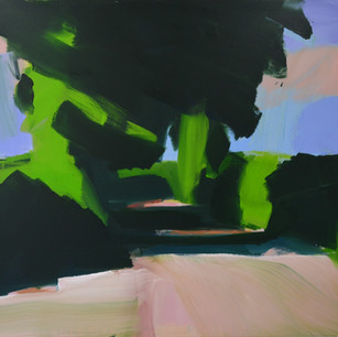 On the Lizzard 3 105 x 120 cm