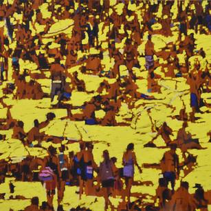 Parasol Yellow 130 x 150 cm