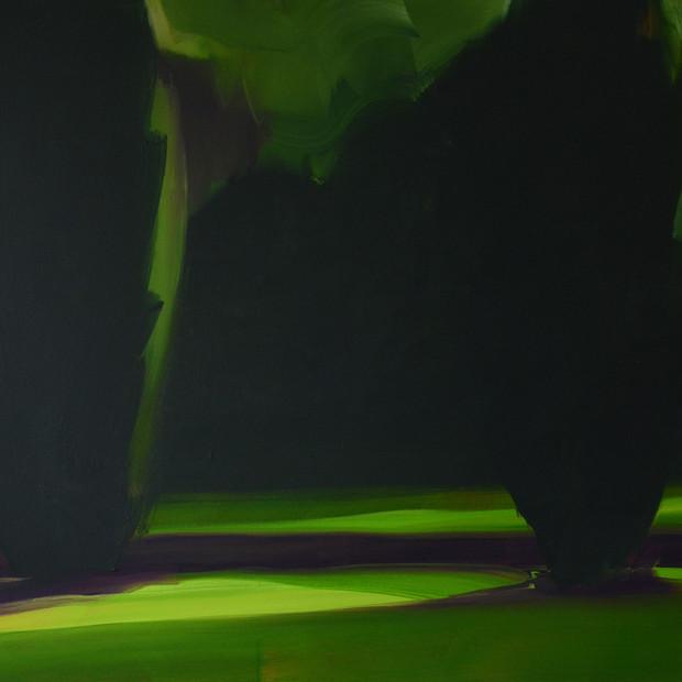 Yews Dusk 105 x 120 cm