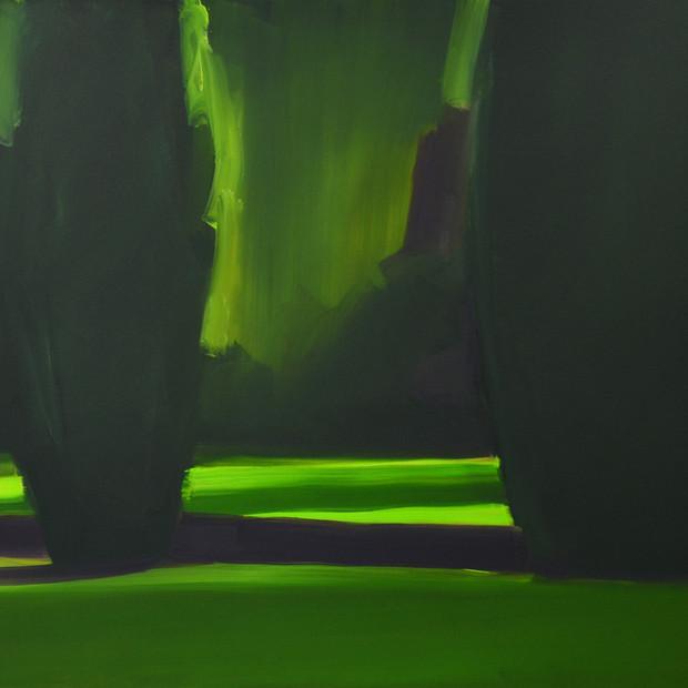 Yews Dusk 2 104 x 120 cm