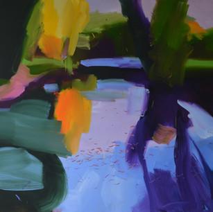 Autumn Lake 2 110 x 130 cm