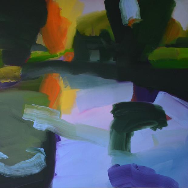 Glyndebourne Lake 1 105 x 120 cm