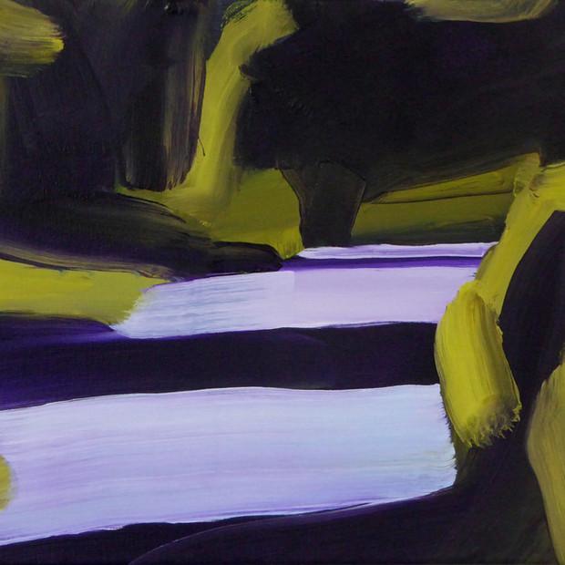 Rise, oil on canvas, 35 x 40 cm