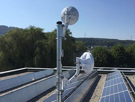 Vernetzung von Gemeindeverwaltung, Bauverwaltung und Schule in Birr mit connect366.air