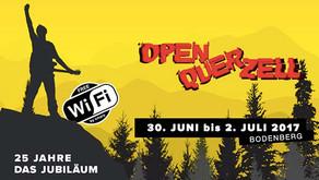 "Public WLAN für Open Air Festival ""OpenQuer Zell"" auf dem Bodenberg"
