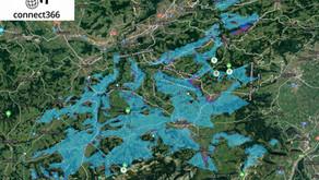smaro übernimmt Langstrecken-WLAN Netz der swiss-wlan im Kanton Appenzell AR/IR