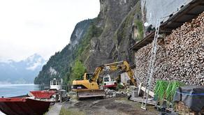 weitere Relais Station am Vierwaldstättersee