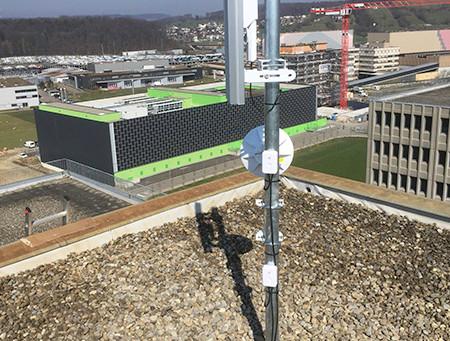 Langstrecken WLAN - connect366.air für Implenia Baustelle am Bötzberg und SBB