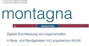"""SAB - greift das Thema """"Digitale Erschchliessung in Berg und Randgebieten"""" auf."""