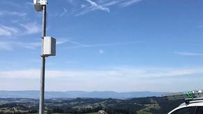 Relais Station auf der Ober Rafrüti / Lüderenalp