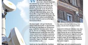 """""""Ab vom Schuss und doch verbunden"""" - Gantrisch Zeitung - Februar 2020"""