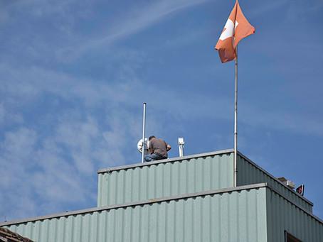 Erste Kunden am Langstrecken WLAN connect366 in Niedermuhlern