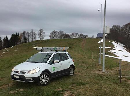 Alp Scheidegg - Wald ZH surft mit connect366.air