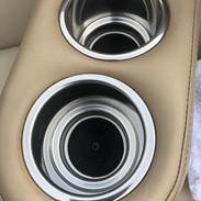 Knoxville Boat Detailing cup holders cleaned