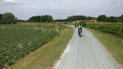 Tweede jaar fietst van Machelen naar Westerlo en terug...