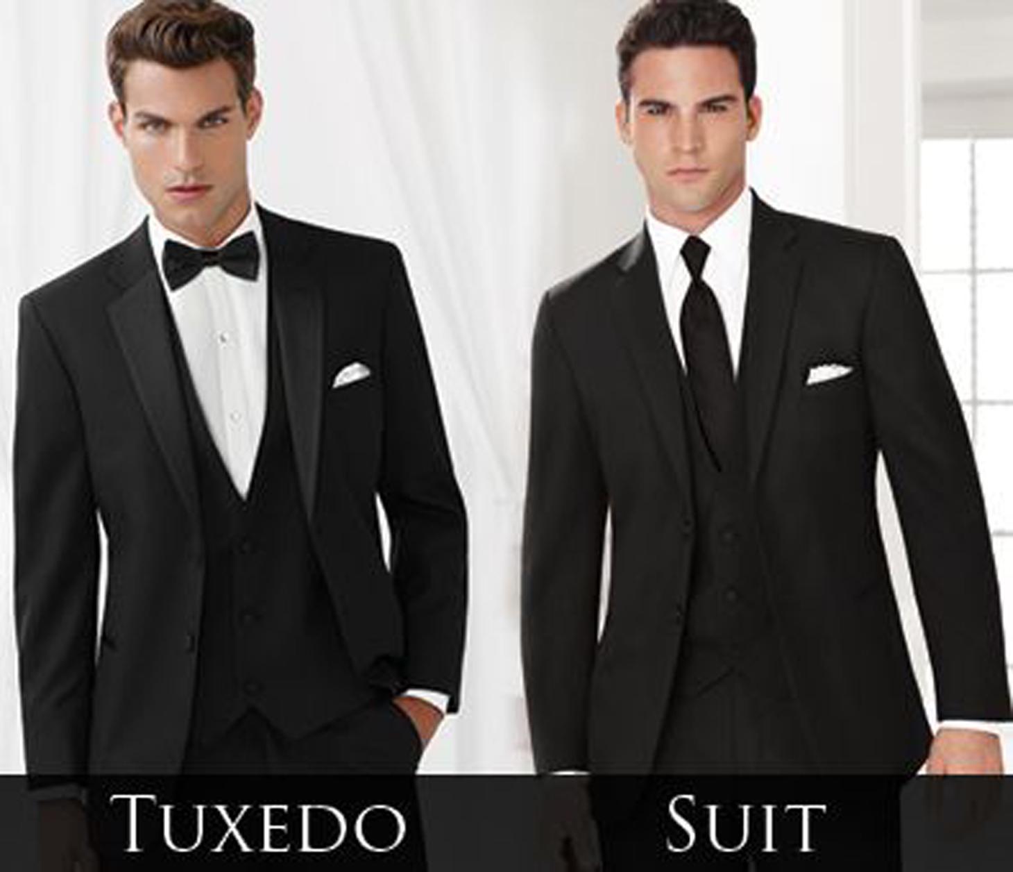 Comparativa tuxedo y traje formal