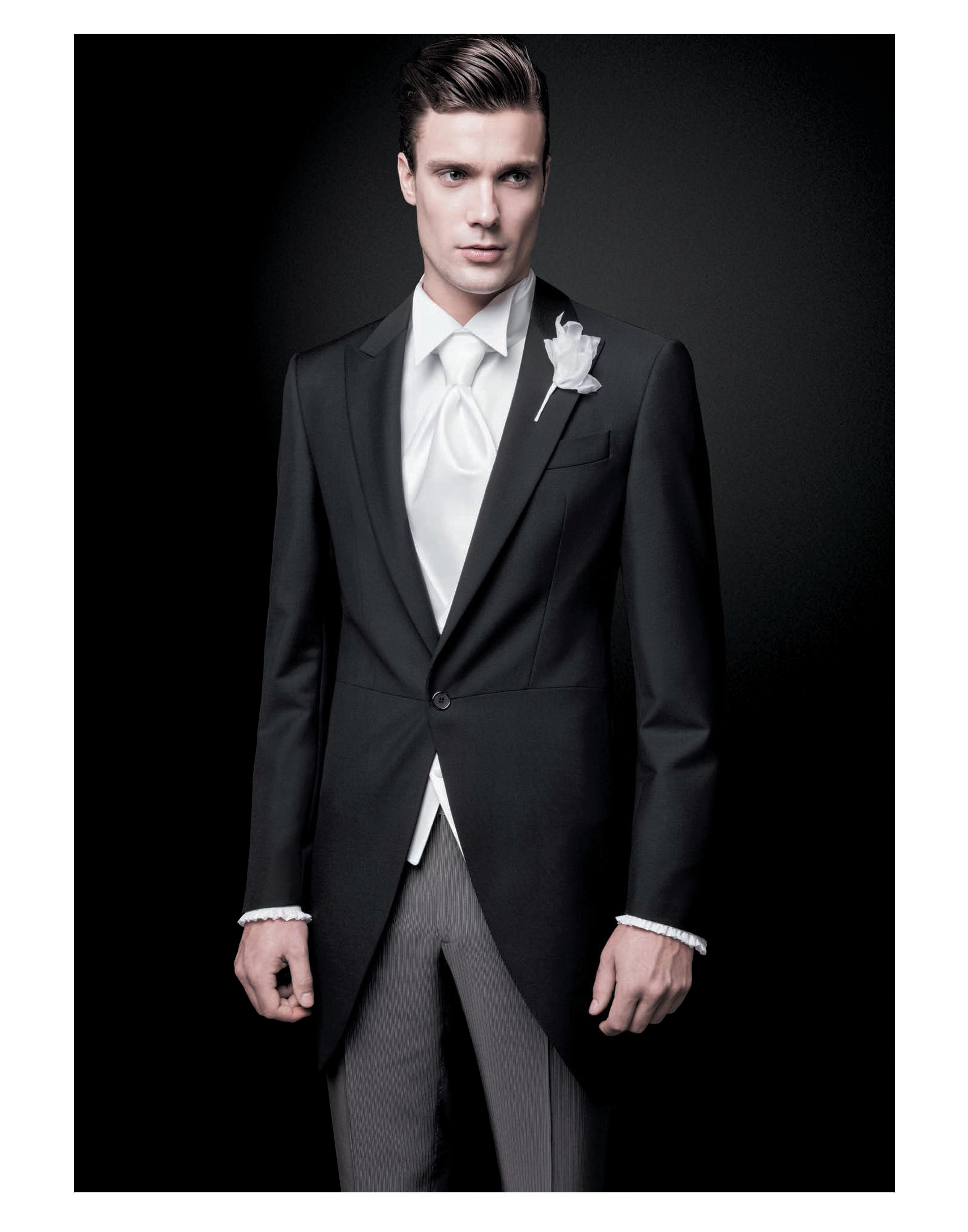 tuxedo jaquet gris oxford boda de dia