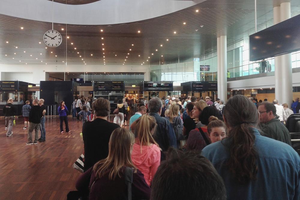 Copenhagen Airport Customs