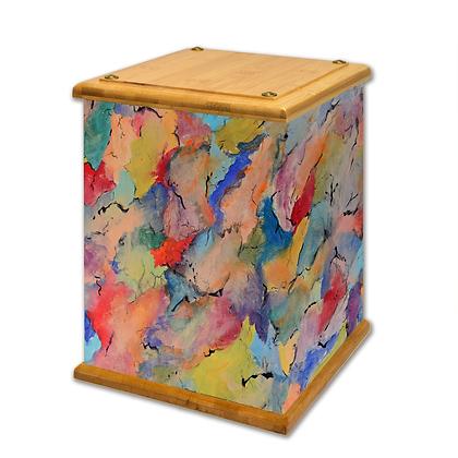 Shapes Art Canvas Urn