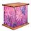 Thumbnail: Butterflies and Flowers Art Canvas Urn