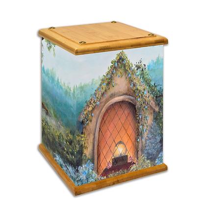 Sanctuary Art Canvas Urn