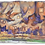 Thumbnail: Pigeons And The City Art Canvas Urn