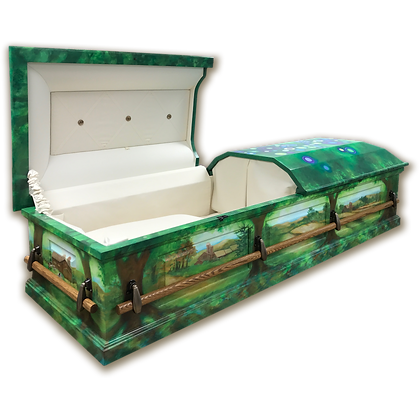 Domed Lid Casket: Custom
